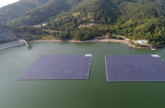 Geumjeon floating solar power plant
