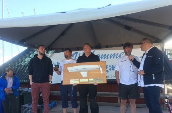 Seaflex Express Sailing Team wins NM-championship in Ulvö