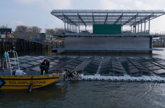 Spotlight: Floating Farm in the Netherlands
